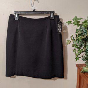 NWT Briggs Ladies Skirt Black Size 12